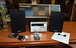 """Panasonic  Mini Hi-Fi """"torony""""  SC- PM250  CD- s"""