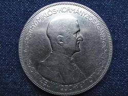 Horthy Miklós HAJAS .640 ezüst 5 Pengő 1930 BP (id49614)