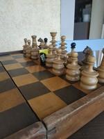 Antik Bécsi sakk készlet