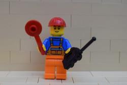 LEGO vasúti irányító figura eredeti szép állapotban vasutas