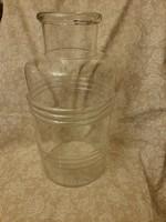 Hibátlan régi befőttes üveg 6L