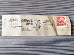 Német birodalom bélyeg kivágáson alkalmi bélyegzéssel!