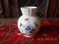 Zsolnay búzavirág mintás váza