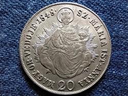 Szabadságharc .583 ezüst 20 Krajcár 1848 KB (id49400)
