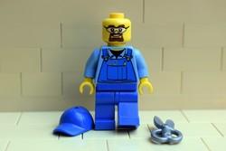 LEGO tapétázó figura eredeti szép állapotban