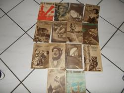 1962-es Élet és Tudomány hetilap  14 db