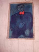 BAKÁNYI GYULA FESTMÉNY 90 x 60 cm