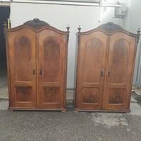 Neobarokk stílusú kétajtós szekrények