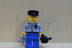 LEGO rendőr figura eredeti szép állapotban