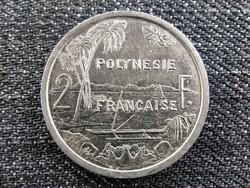 Franciaország Francia Polinézia 2 frank 1985 (id21609)