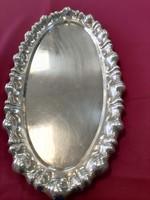Hólyagos ezüst Tálca 350g