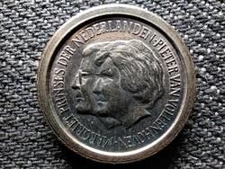 Hollandia Királyi család fantázia érmek Péter herceg és Margit hercegnő 5 Cent (id48592)