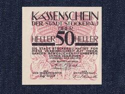 Ausztria Stockerau 50 heller szükségpénz 1919 (id7458)