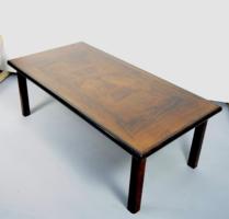 Dán mid-century paliszander dohányzóasztal