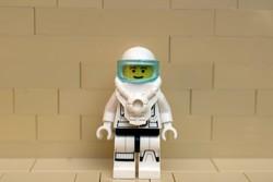 LEGO űrhajós figura eredeti szép állapotban