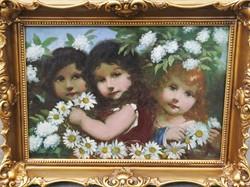 A tavasz allegóriája, Veres Zoltán festménye