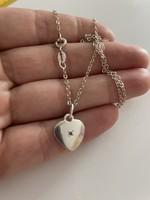 Gyönyörű ezüst brill Köves medál 925-ös ezüst nyaklánc
