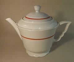 Zsolnay manófüles tea kiöntő