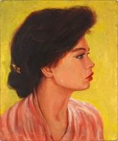 1E123 Gracza Ferenc : Női portré 1984