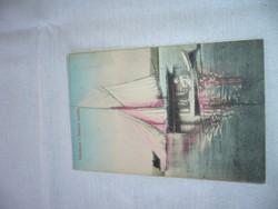 KÉPESLAP  BALATON  1910