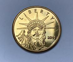 Liberty 2011 'A barátság ajándéka a francia néptől' emlékérem.