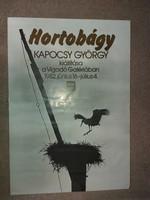 Kapocsy György, Hortobágy, plakát, méret jelezve!