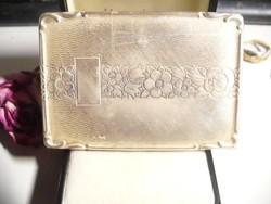 Antik ezüst cigarettásdoboz