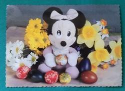 Miki egér - Húsvéti képeslap - használt