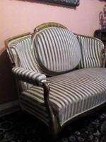 Neobarokk szalon garnitúra ,  üllőgarnitúra kanapé, fótel  eladó !
