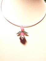 Nyaklánc +angyal medállal