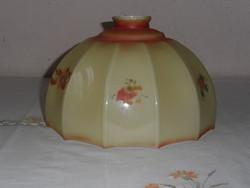 Vintage üveg lámpaernyő, lámpabura
