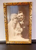 Régi esküvői fényképek - 3 db