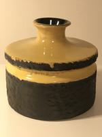 Retro német kerámia váza a 70-es évekből