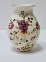 Zsolnay Pillangós gömbváza 12,5 cm