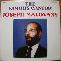 Joseph Malovany:The Famous Cantor bakelit lemez