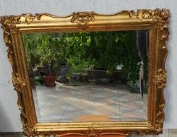 Gyönyörű antik Barokk, rokokó tükör fazettàs, képkeret célra is gyönyörű ahogy a fotókon látható!