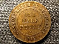 Ausztrália V. György 1/2 Penny 1919 (id49207)