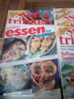 Magazin gyűjtemény (14db) Essen & Trinken az 1990-es évekből