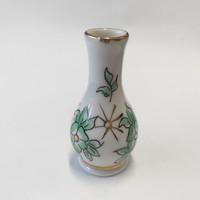 Porcelán Virágos Mini Váza.5.5 cm