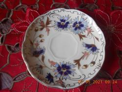 Zsolnay búzavirág mintás kávés kistányér / alátét