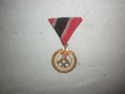 Bányász  szolgálati érdemrend kitüntetés