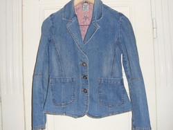 Motion női sztrecs farmer kabátka, blézer ( 36-os )