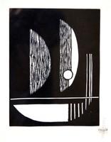 Kassák-grafika a Panderma albumból