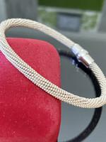 Különleges ezüst karkötő-karperec