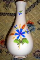 Ó Herendi (címeres ) porcelán váza , magasság 15 cm