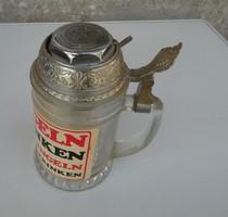 Retro Tréfás sörös korsó - Söröskorsó csengővel