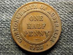Ausztrália V. György 1/2 Penny 1922 (id49212)