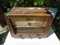 Terta T 425 régi rádió