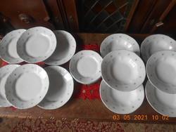 Zsolnay porcelán tányér készlet