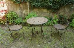 Kerti garnitúra - (1 db asztal + 2db szék)